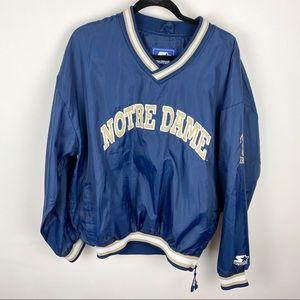 Vintage Starter Notre Dame Pullover